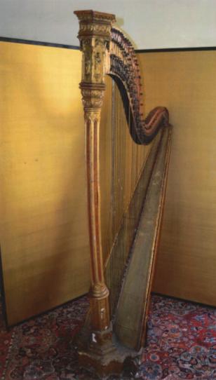 Harpe avant restauration