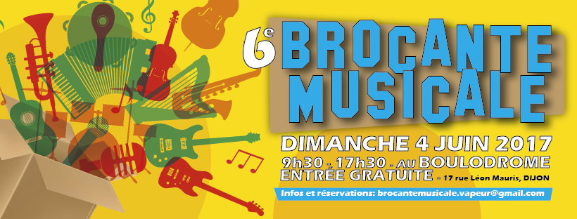 6è brocante musicale de Dijon