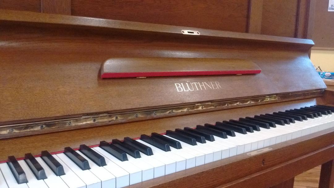 Piano droit BLÜTHNER