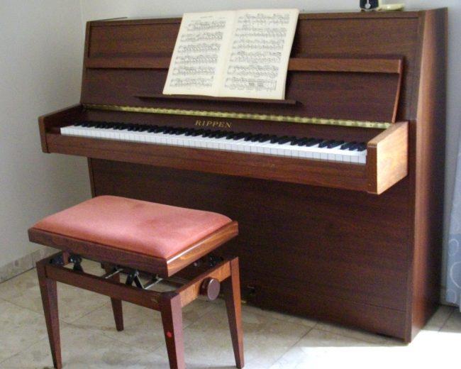 location de piano d'étude