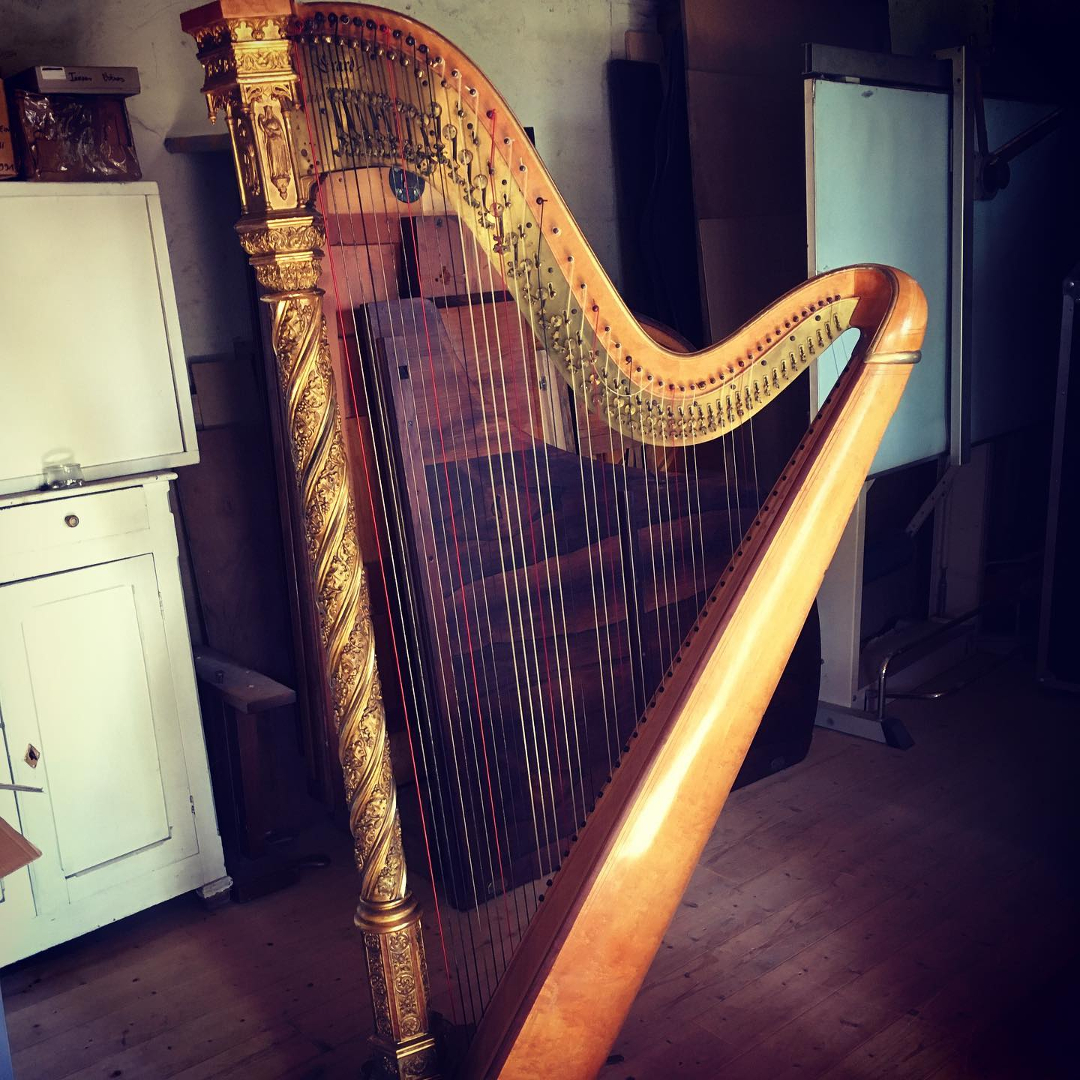 Réglage harpe Erard