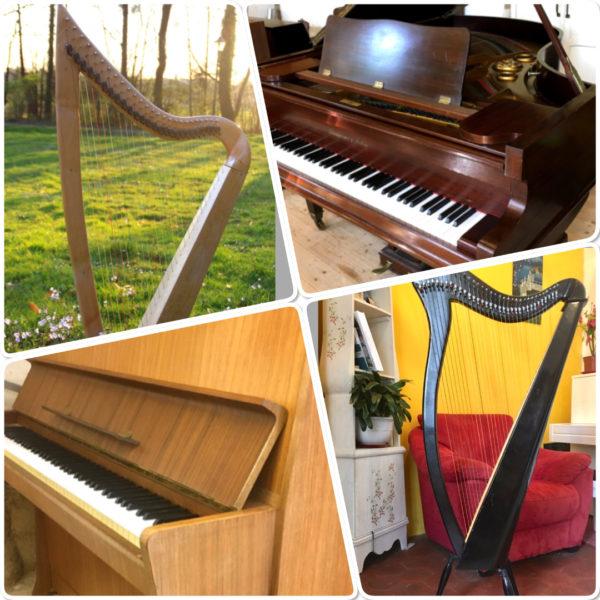 piano harpe