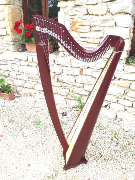 location harpe